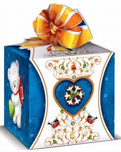 Новогодняя упаковка для подарков 75